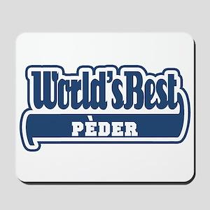 WB Dad [Bolognese] Mousepad